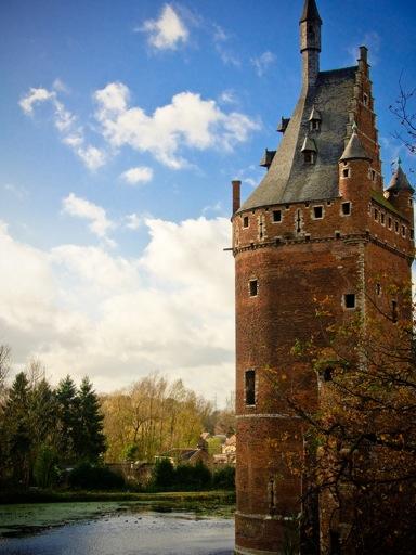 Beersel Castle towers