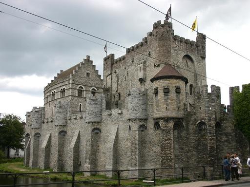 Belgium Castles - Gravensteen
