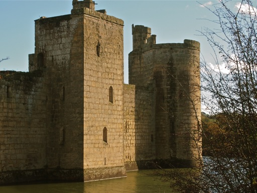 Bodiam Castle drum tower