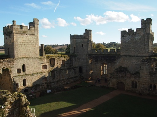 Bodiam Castle interior