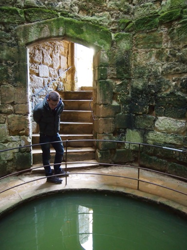 Well within Bodiam Castle