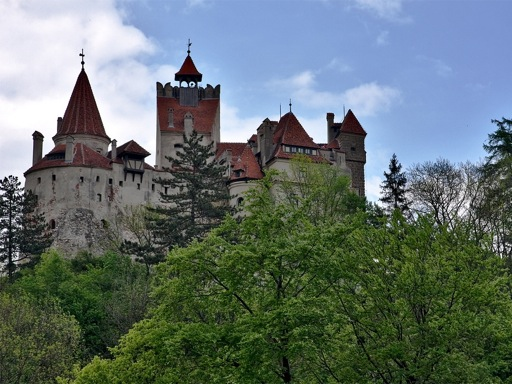 Bran Castle outline