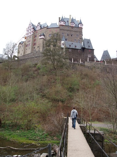 Bridge to Burg Eltz