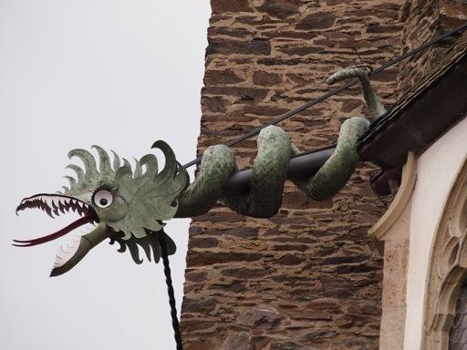 Burg Eltz Gargoyle