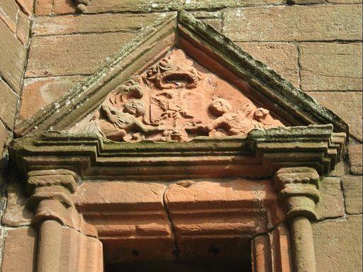 Caerlaverock Castle Arms