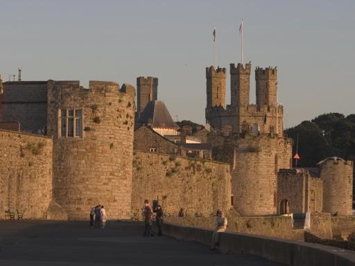 Caernarfon Castle Walls