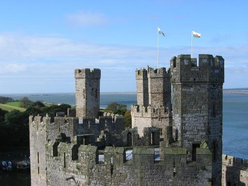 Caernarfon Castle Turrets