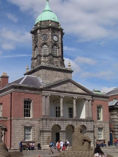 Castles in Dublin - Courtyard