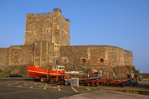 Castles in Northern Ireland - Carrickfergus Castle