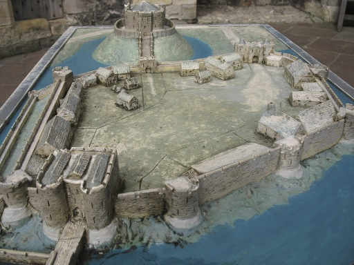 Model of York Castle