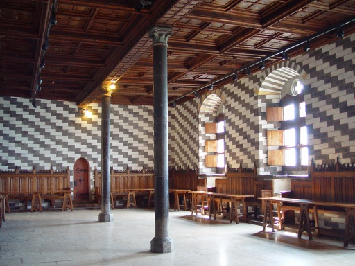 Chillon Castle interior
