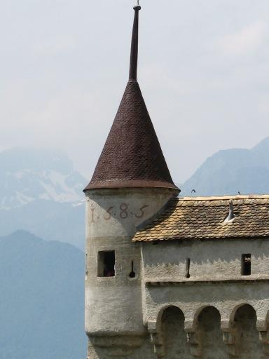 Chillon Castle Tower