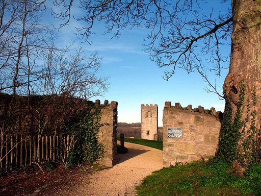 Entrance to Denbigh Castle