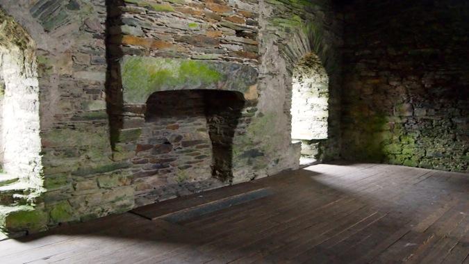 Dolwyddelan fireplace