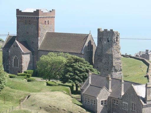 Dover Castle England Roman Lighthouse