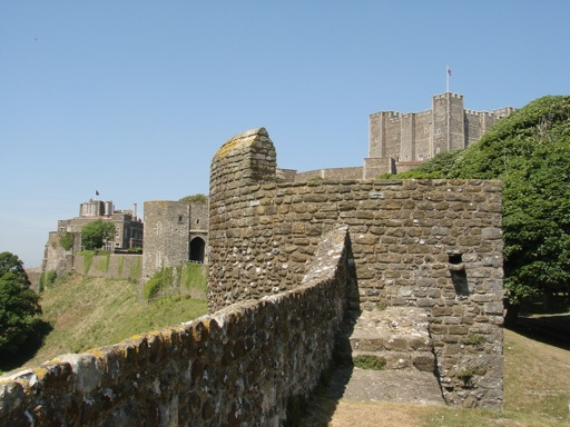 Dover Castle, one of the greatest European Castles.