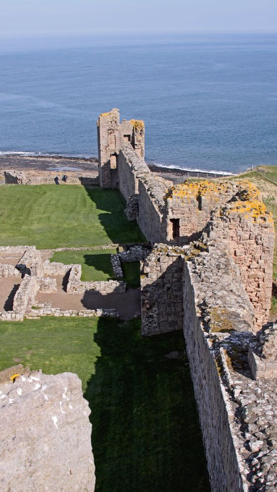 Eagles Tower and Constables Tower, within Dunstanburgh Castle