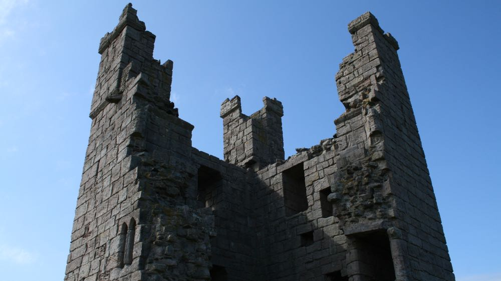 Lilburn Tower, Dunstanburgh Castle