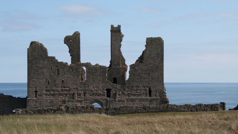 Reverse of the Dunstanburgh Castle gatehouse