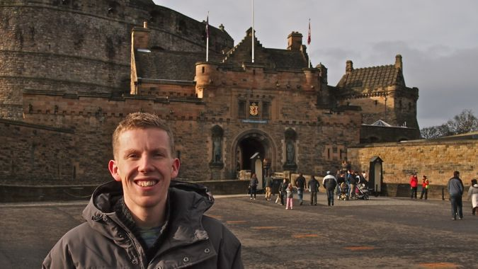 Exploring Edinburgh Castle