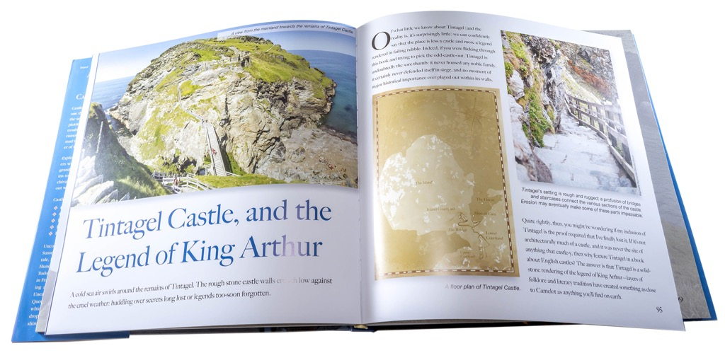 Exploring English Castles Book Interior