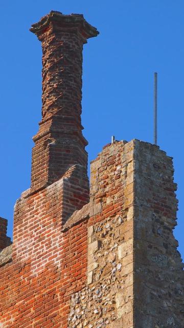 Framlingham Castle Chimneys