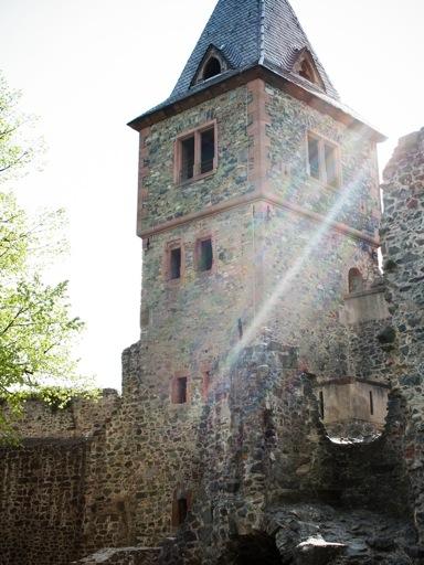 Frankenstein Castle tower