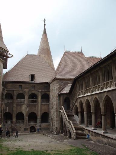 Hunyad Castle Courtyard