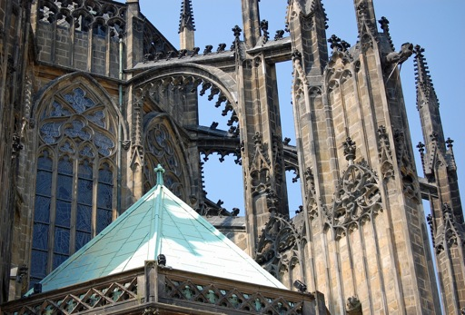 Gothic Flying Buttresses