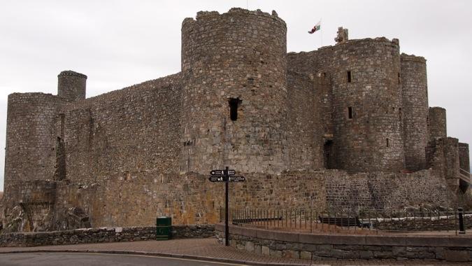 Harlech Castle exterior