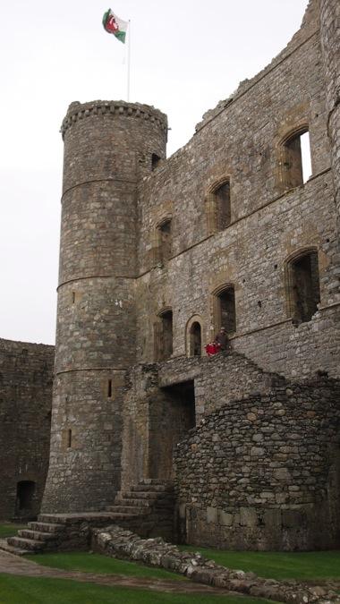 Harlech Castle gatehouse