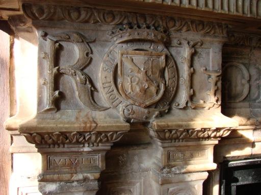 Robert Leicester's Initials