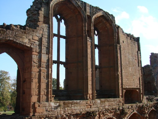 Kenilworth Castle Great Hall Windows