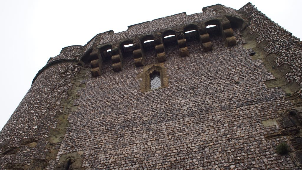 Machicolations of Lewes Castle