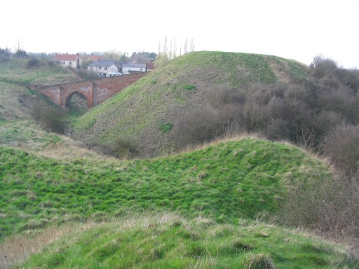 Remains of Pleshey Castle
