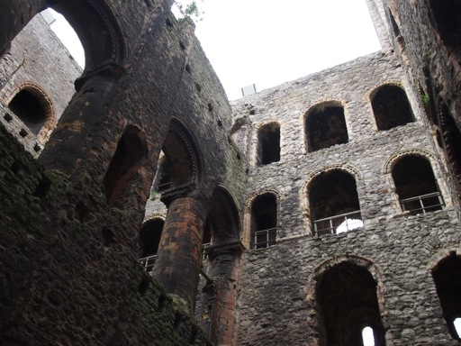 Interior of Rochester Castle