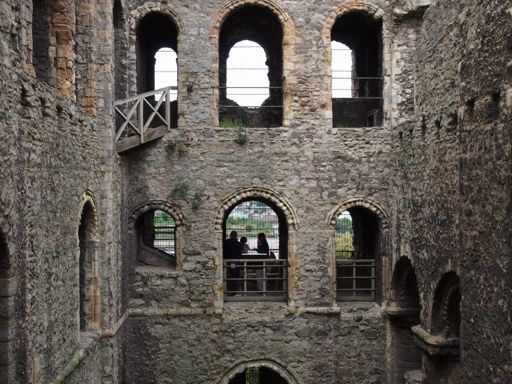 Rochester Castle Interior