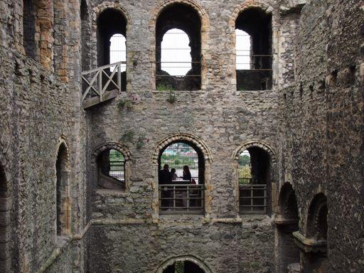Rochester Castle Interior