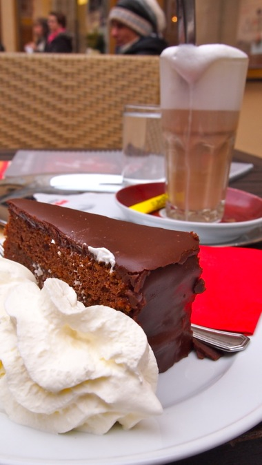 Sacher Torte and Coffee