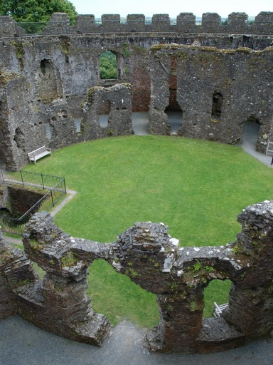 Restormel Castle Shell Keep