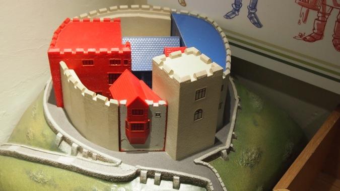 Tamworth Castle Model