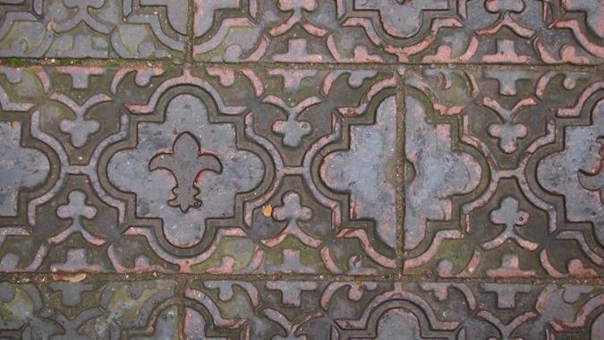 Tamworth Castle Tiling