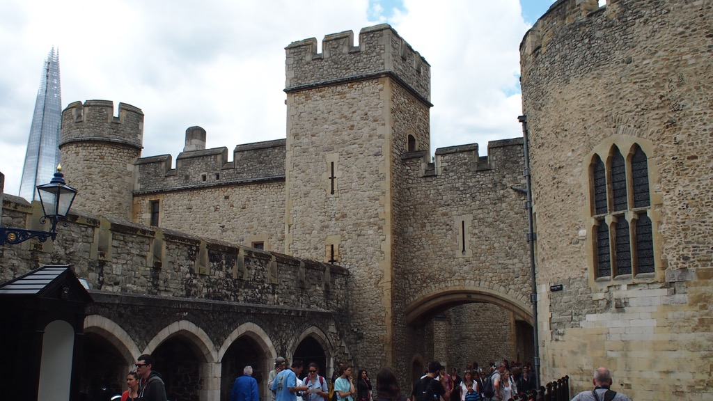 The concentric design of the Tower of London