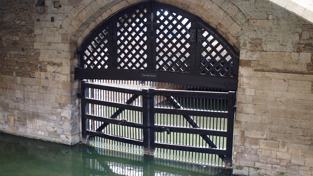 Traitors Gate in the Tower of London