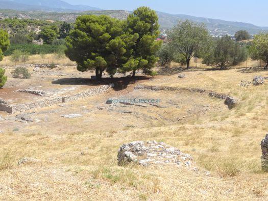 EG | Αρχαιολογικός Χώρος Ισθμίων - Θέατρο (Αρχαιολογικός Χώρος ...