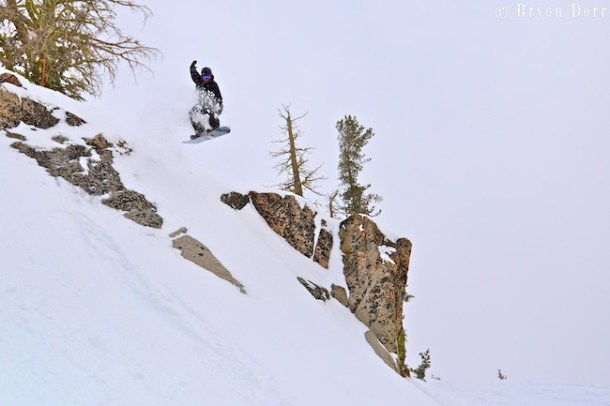 Jeremy Jacobson loves to share all the goods that North Lake Tahoe has to offer. He also knows how to go big on his local terrain!