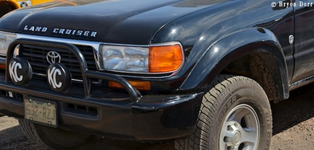 """Land Cruisers are even badged """"Trail Rated"""" at Jeep Safari:)"""