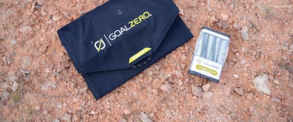 REVIEW: Goal Zero- Solar Powering Your Adventures