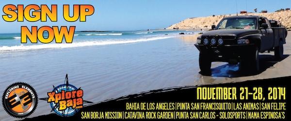 SIGN UP: Baja Overland Adventure 2014