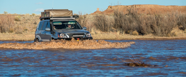 ADVENTURE DRIVEN: Crossing The Not So Little Colorado River